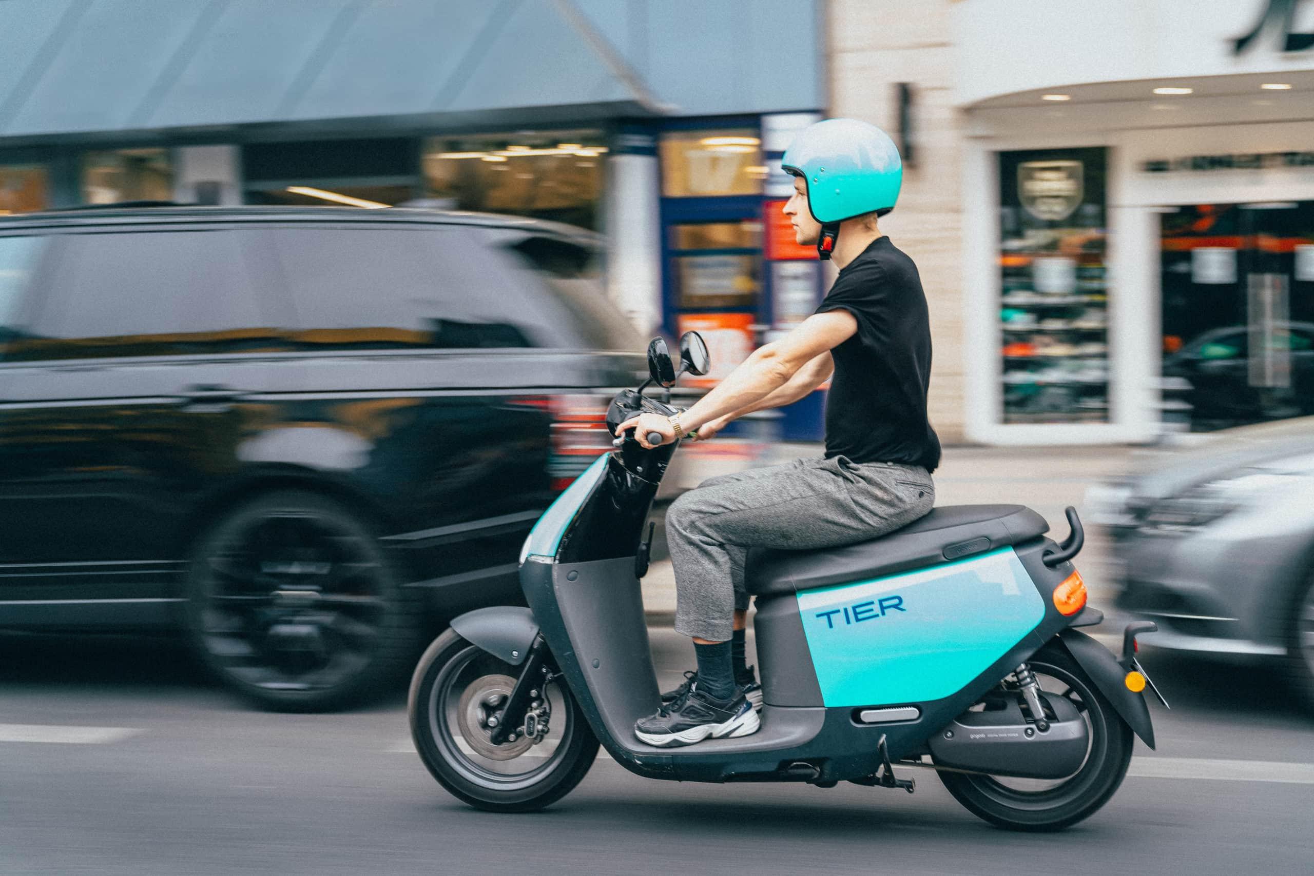 E-Scooter im Straßenverkehr